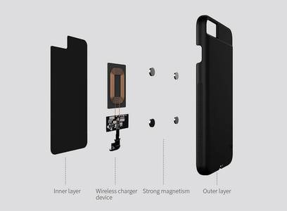 Nillkin Magic Qi wireless charger case for Iphone7 11
