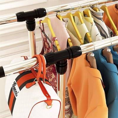 Stainless Steel Double-Pole Retractable Drying Rack 6