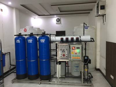Mineral Water Plant 10000 GPD Special 1