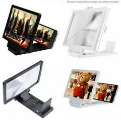 3D Mobile Screen Enlarge Screen Magnifier Mobile Stand High Quality. 0
