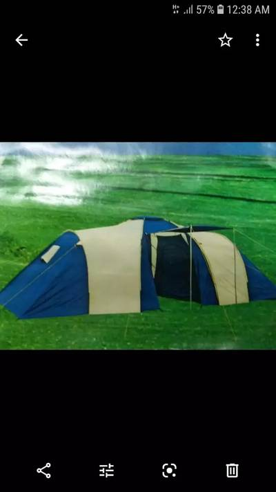 Camping tent camping bed camping chairs sleeping bags 5