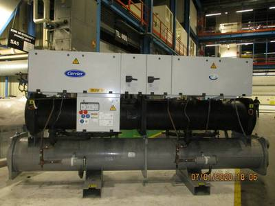 Carrier Water Cooled Chiller 375 ton Year 2006 0