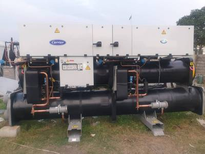 Carrier Water Cooled Chiller 375 ton Year 2006 1