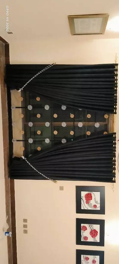 Roman blinds and curtains 11