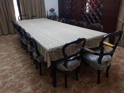 Antique Family Dinning Table for Sale in Karachi 0