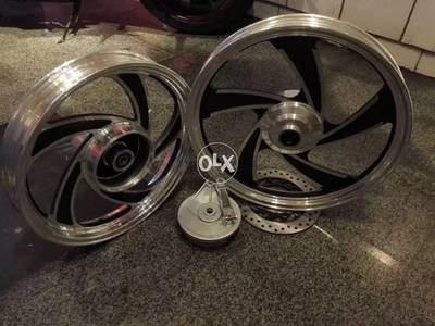 Alloy Rims for suzuki gs 150 At Bullet1Motorsports 2