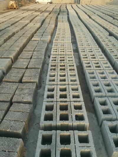 Concret Blocks. 3