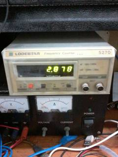 LODESTAR Frequency Counters 5270 10Hz to 1.2GHz 0