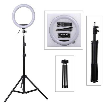 26cm Selfie Ring Light with Tripod Stand 7ft Tiktok and Youtube Videos 0