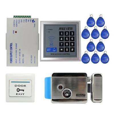 Homes & official RFID & BIOMETRIC ACCESS CONTROL DOOR LOCKS ELECTRIC 2