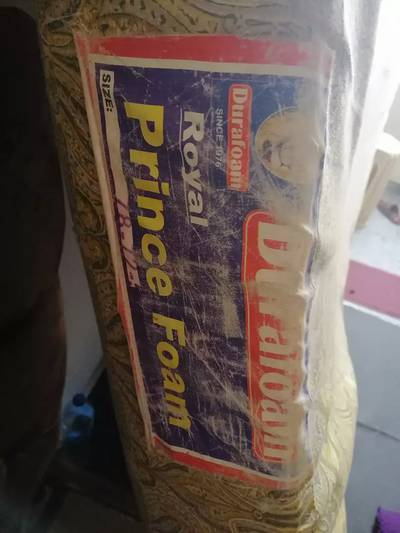Dura Royal prince king size foam excellent condition thickness 5.5 inc 1