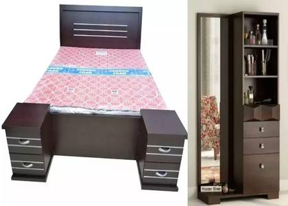 New king bed side and dressing table 6