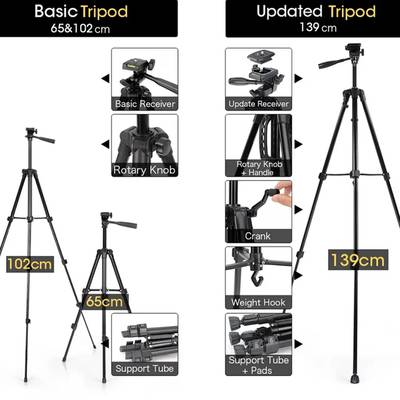 Professional Tripod Stand  For Mobile DSLR Ring Light 0
