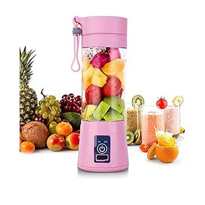 Portable Electric Juicer 380ML Wireless Fruit Extractor Automatic Mult 1