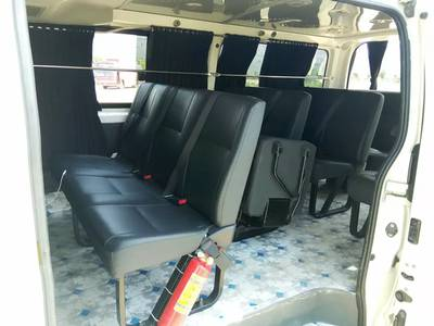 Toyota Hiace available for booking tour shift 0