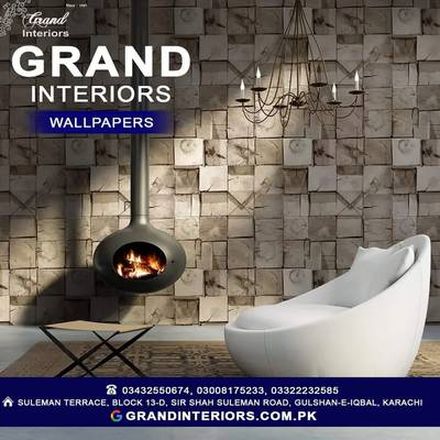 Wallpapers or wall pictures wall panels by Grand interiors 0