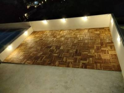 Solid Wood Deck Tiles Available 2