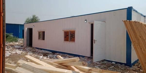porta cabin office container marketing office with washroom kitchen 1
