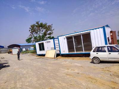 Hi cube container/office containers /porta cabins/prefab houses for sa 3