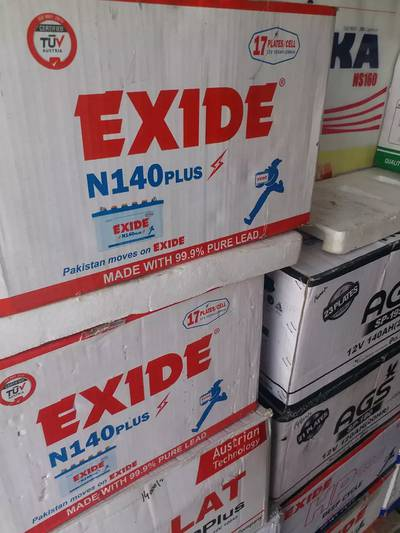 Exide N-140 Plus New battery free home delivery 2