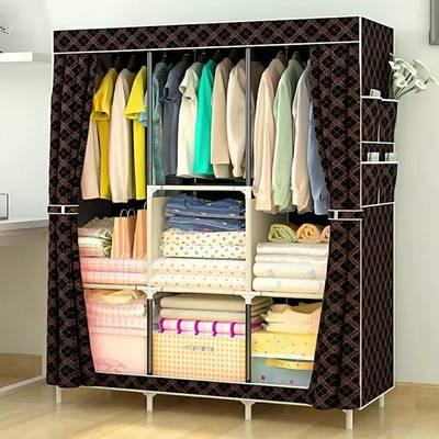 Title :  2 door splended bigger cloth rack 0