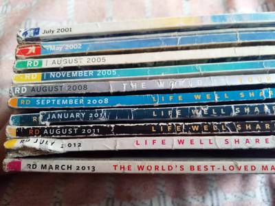 Readers Digest - 10 old issues 6