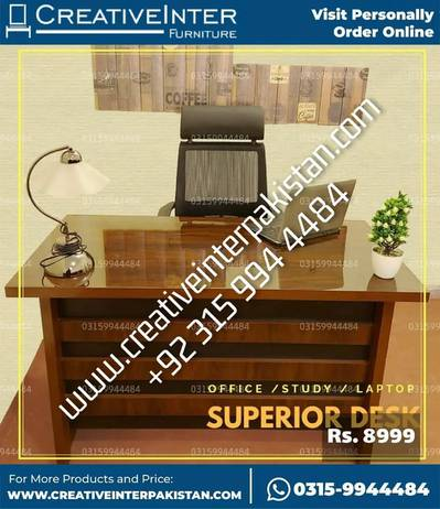 Study Office Table supergloss sofa bed set chair dining workstation 4