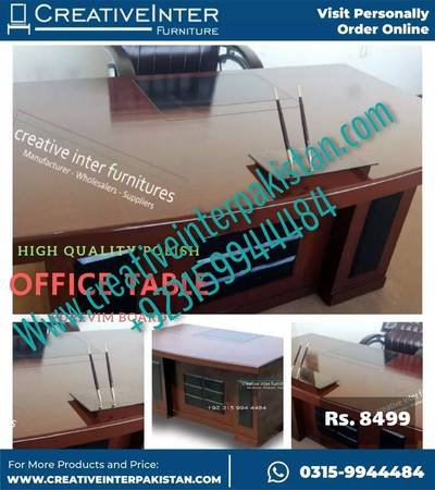 Office table beautiful design Chair sofa bed set workstation study 5