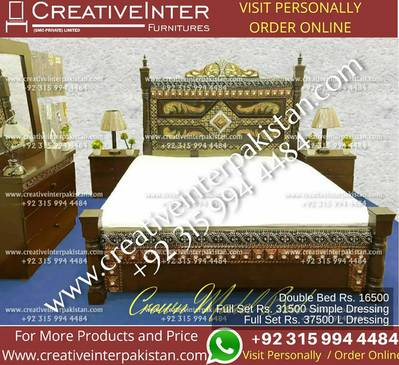 Double bed set excellentprice sofa dining table office chair cupboard 2