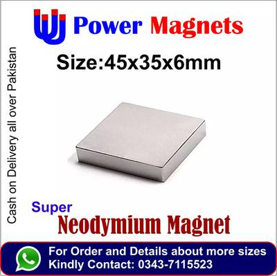 Every size of super Neodymium magnet available in pakistan 10