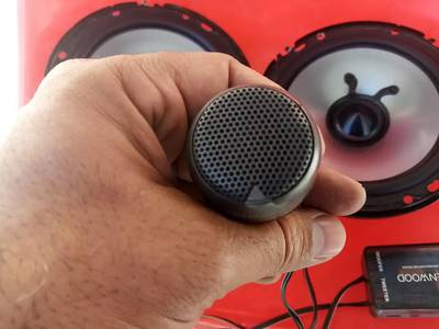 Components speakers for car doors 7