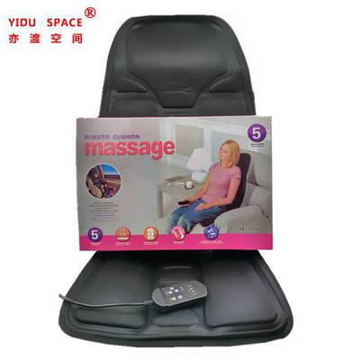 Massage Seat Topper With Soothing Heat 5 Massagers 4