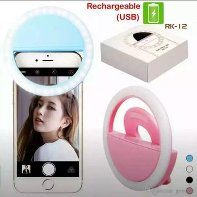 USB Charge Rechargeable 36 Led Selfie Ring light mobile laptop tablet 7