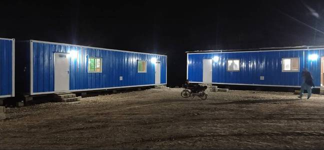 House container/ Security Guard Cabin/ Porta Cabin 4