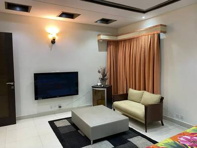 DHA phase 5 One bedroom full furnished basement for rent 1