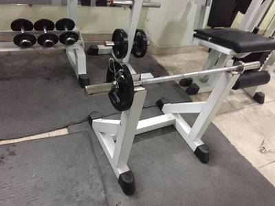 Full Gym Machines, Dumbles,Plats 2 Treadmills and Rods 2