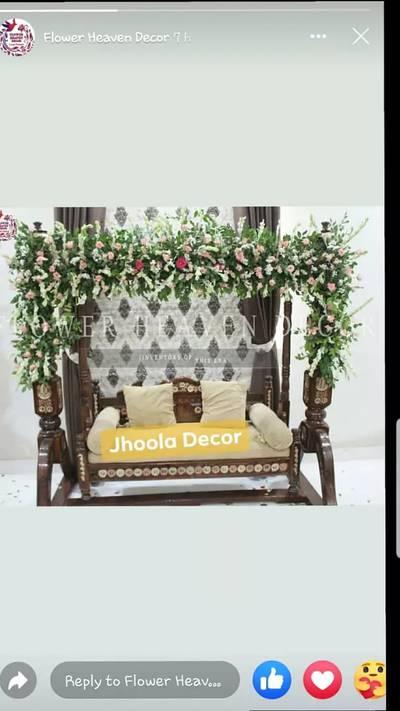 FRESH FLOWER DECORATION IN KARACHI WEDDING BED ROOM DECORATION SERVICE 6
