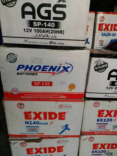 Exide N-140 Plus New battery free home delivery 4