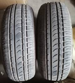 Set of 2 Tires Used DUNLOP Tyres 195/65/15 15 inch Rims 0