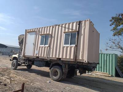 camper container/ porta cabin for sale in isb 4