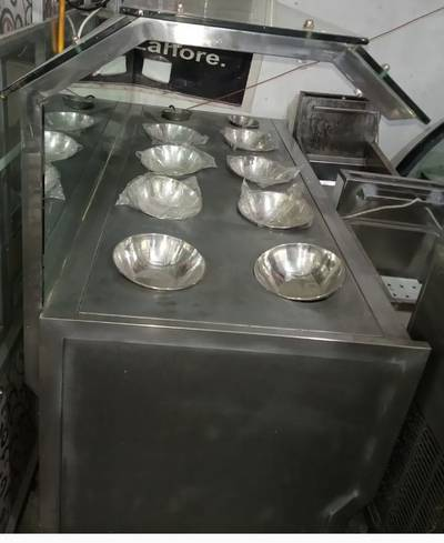 Salad bar 6 fts like new doubl cooking sistm 0