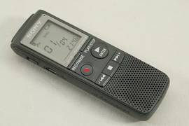Sony Digital Voice Recorder with Flash 2 GB and MP3 0