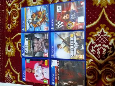Ps4 used and new games 2