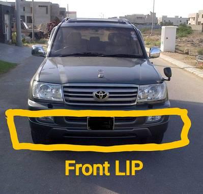 Front bumper lip land cruiser grand 100 series vx limited 1998 2006 0