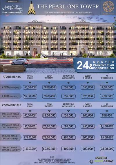 1 Bed Apartment Bahria Town Lahore 3