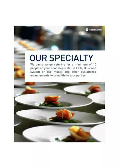 Xpert Event & Catering management company 3