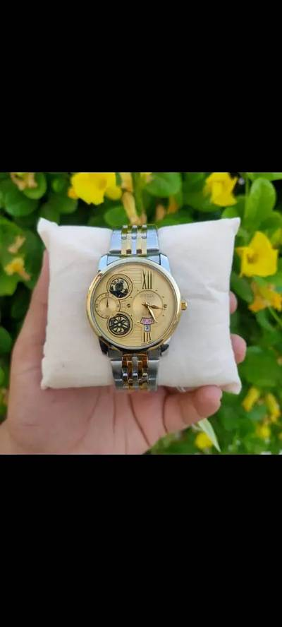 Citizen day nd date working golden chain or 2ton chain for men's 3