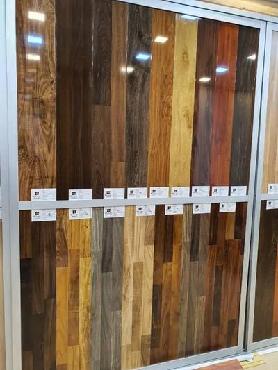 Hot sale cheap german technology wood 3 strips laminated flooring 1
