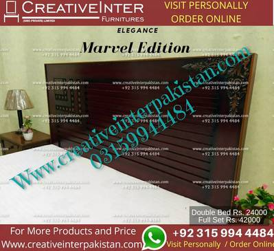 Double bed set beautiful sofa dressing dinning table Center wardrobe 2
