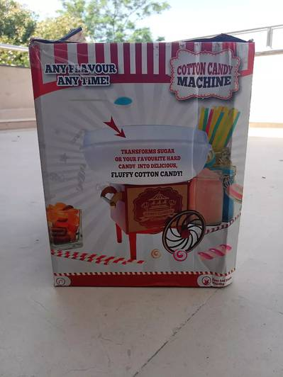 Cotton Candy maker Bought in Germany 5